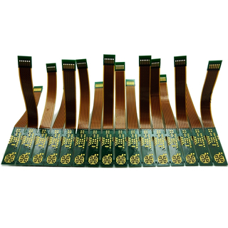 8 layer rigid-flex PCB made by Dupont material with blind and buried via