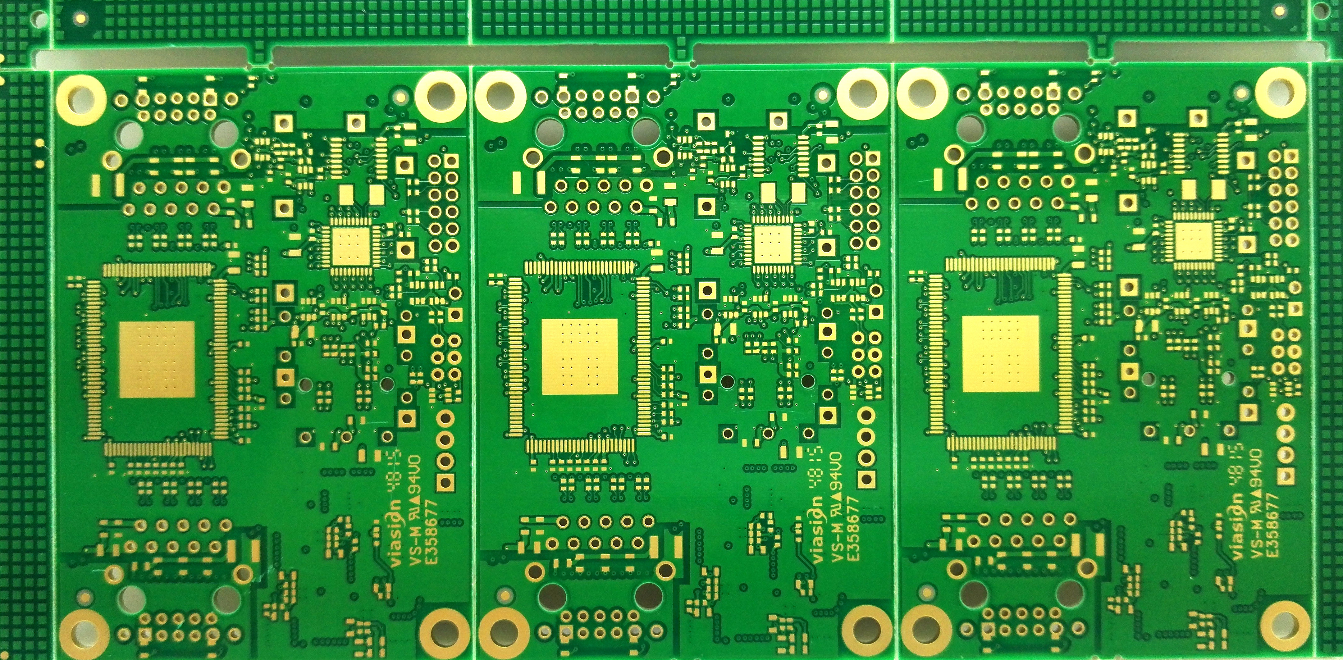 4 layers high TG 170 FR4 PCB used in HDD portable media players